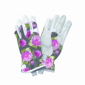 KS Leather Gloves Peony Grey Small