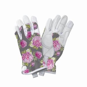 KS Leather Gloves Peony Grey Medium