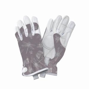 KS Leather Gloves FlutterBugs Purple Medium