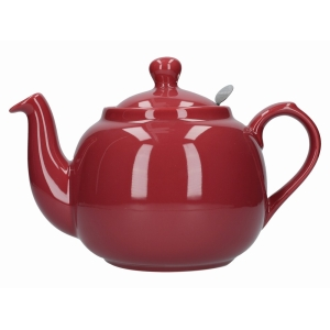 Lp Farmhouse 6 Cup Teapot Red