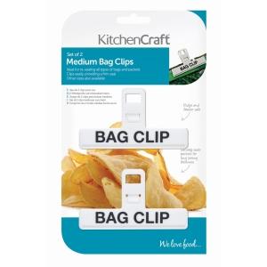 Bag Clips 2 Pack Plastic