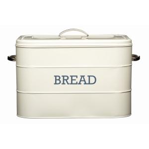Cream Tin Bread Bin