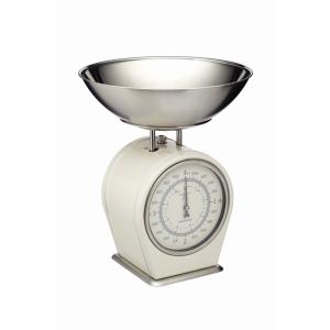 Cream Mechanical Kitchen Scale