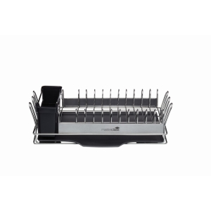 Compact Stainless Steel Dish Rack