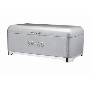 Bread Bin Textured Grey