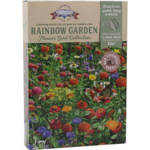 Blue Diamond Rainbow Garden Shaker