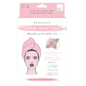 Rose Infused Hair Turban
