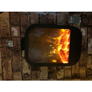Helios Fireplace Lantern