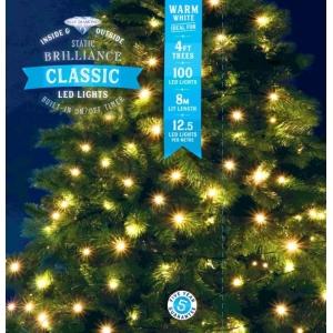 Classic 100 LED Lights – Warm White