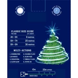 Classic 200 LED Lights – Ice White
