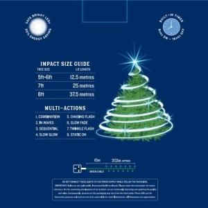 1000 LED Impact Light String – Ice White