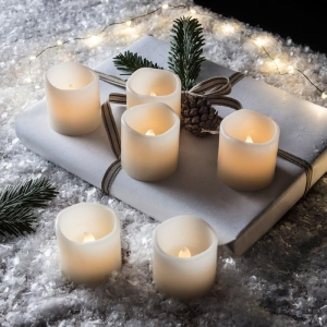 Outside In Battery Powered Mini Candle 4Pk