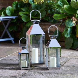 Outside In Stockholm Lantern Set Of 3