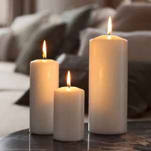 Spaas Pillar Candle Ivory 60x100mm