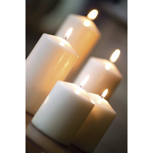 Spaas Pillar Candle Ivory 80x250mm