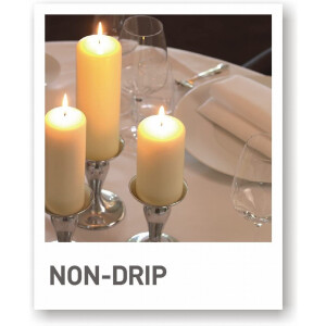 Spaas Pillar Candle Ivory 100x200mm