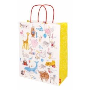 Alphabet Animals Baby Gift Bag Large