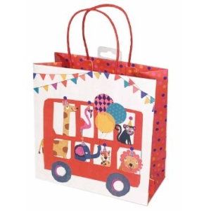 Animal Circus Kids Gift Bag Medium