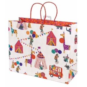 Animal Circus Kids Gift Bag Carrier
