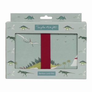 Dinosaurs Bamboo Lunch Box
