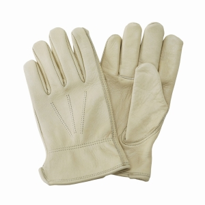 KS Luxury Leather W/Resistant Gloves Ladies Med
