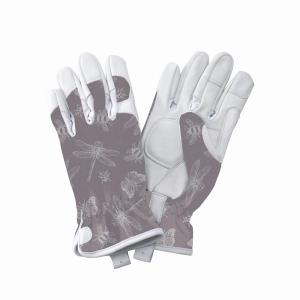 KS Leather Gloves FlutterBugs Purple Small