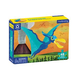 Mudpuppy Mini Puzzle – Pterosaur