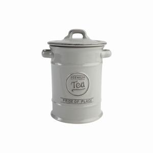 Pride Of Place Tea Jar Grey