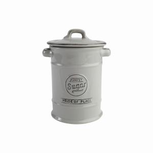 Pride Of Place Sugar Jar Grey