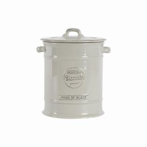 Pride Of Place Biscuit Jar Grey