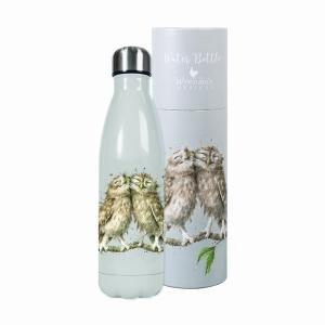 Wrendale Owl Water Bottle