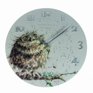 Wrendale Owl Wall Clock