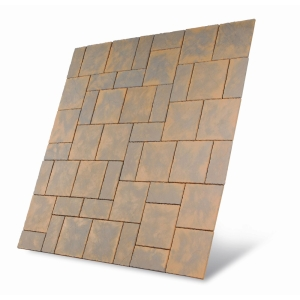 S2D Chalice Paving Kit Honey Brown 7.29M2