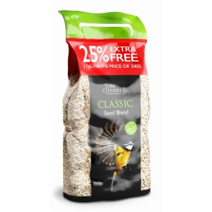 Classic Seed Blend + 25% Extra 3.75kg
