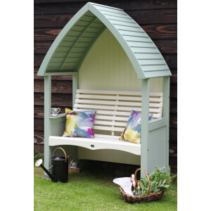 Cottage Arbour Sage And Cream
