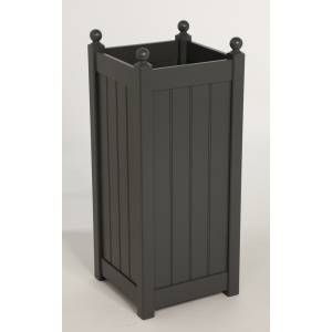 Classic Tall Planter Charcoal 905mm