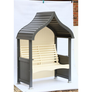 Orchard Arbour Charcoal and Cream