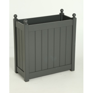 Tall Classic Trough Charcoal 660mm