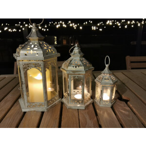 Outside In Blenheim Lantern Set