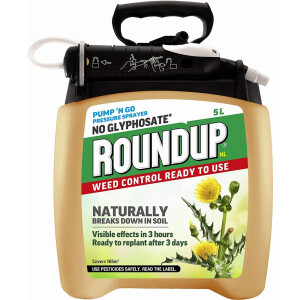 Roundup Natural Pump & Go 5 Litre