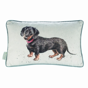 Hugo Daschund Cushion