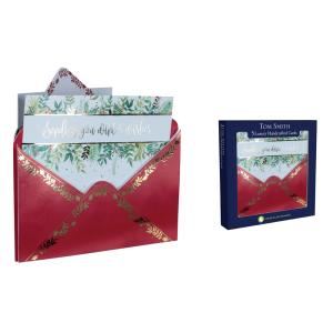 Tom Smith 5 Envelope Design Handmade Christmas Cards