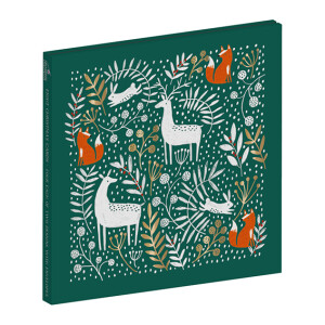 8 Winter Woodland Christmas Cards in Wallet