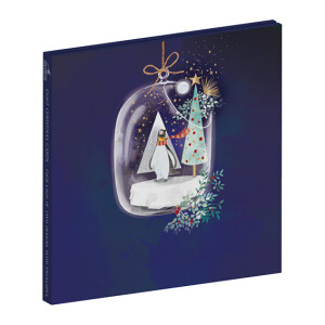 8 Winter Baubles Christmas Cards in Wallet