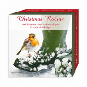 40 Assorted Robins Christmas Cards
