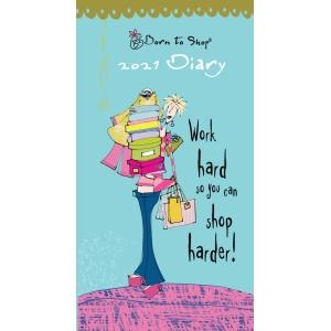 Born To Shop 2021 Slim Diary