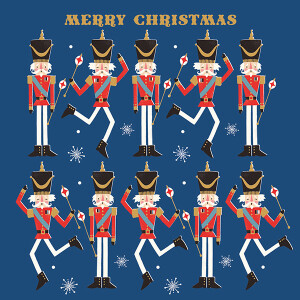Pack of 6 Charity Cards Nutcracker Design –  CLIC Sargent