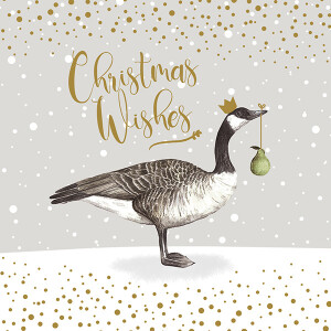 Pack of 6 Charity Cards Geese and Bauble Design – Dementia UK