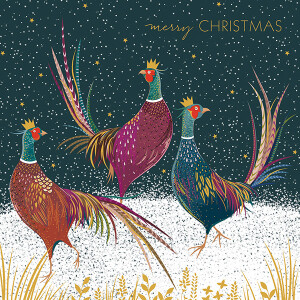 A Pack of 5 3D pop up Christmas Cards by Sara Miller London