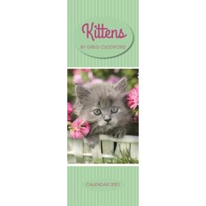 Kittens By Greg Cuddiford 2021 Calendar